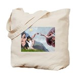Creation / Collie Tote Bag
