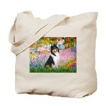 Garden / Collie Tote Bag