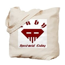 Speed-metal Coding Tote Bag