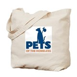 Feeding Pets of the Homelss Tote Bag