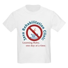 Java Rehab Clinic Kids T-Shirt