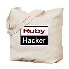 Ruby Hacker Tote Bag