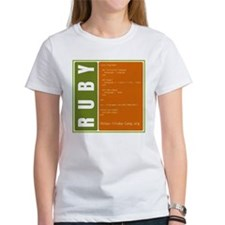 Use Ruby, be happy! Women's T-Shirt