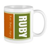 Use Ruby, be happy! Mug