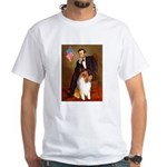 Lincoln / Collie White T-Shirt