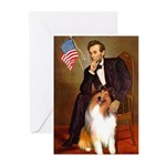 Lincoln / Collie Greeting Cards (Pk of 10)