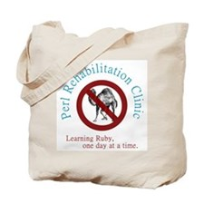 Perl Rehab Clinic Tote Bag