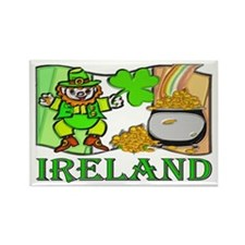 ...Ireland Leprechaun... Rectangle Magnet