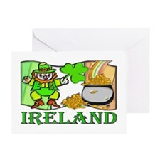...Ireland Leprechaun... Greeting Card