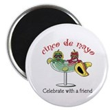 "Cinco de Mayo Friend 2.25"" Magnet (10 pack)"