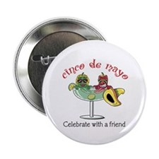 "Cinco de Mayo Friend 2.25"" Button (100 pack)"