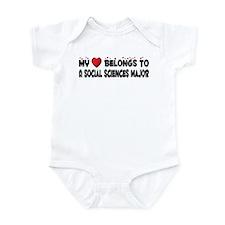 Belongs To A Social Sciences Major Infant Bodysuit