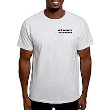 Belongs To A Social Science Education Major T-Shirt
