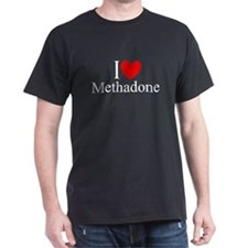 """I Love (Heart) Methadone"" T-Shirt"