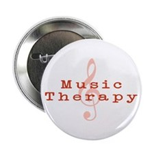 "Music Therapy 2.25"" Button (100 pack)"