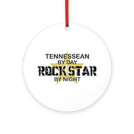 Tennessean Rock Star Ornament (Round)