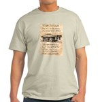 Judge Roy Bean Light T-Shirt