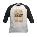 Judge Roy Bean Kids Baseball Jersey