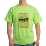 Judge Roy Bean Green T-Shirt