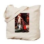 Accolade / Collie (tri) Tote Bag