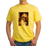 Queen / Collie (tri) Yellow T-Shirt