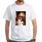 Queen / Collie (tri) White T-Shirt