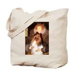 Queen / Collie (tri) Tote Bag