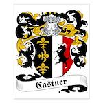 Castner Family Crest Small Poster