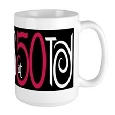 Fabulous at 50 Black Mug