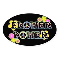 Flower Power Bumper Stickers
