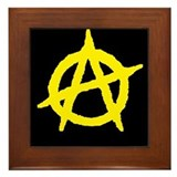 Anarchist Framed Tile