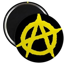 "Anarchist 2.25"" Magnet (10 pack)"