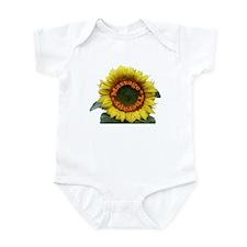 Massage Sun Flower Infant Bodysuit