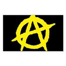 Anarchist Rectangle Decal