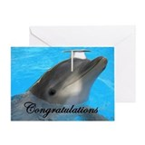 Dolphin Graduation Greeting Card