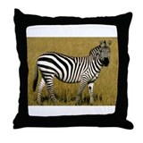Cute Zebra Throw Pillow