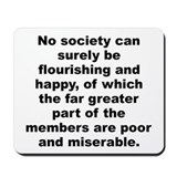 Cute Smith quotation Mousepad