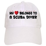 Belongs To A Scuba Diver Baseball Cap