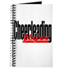 (Red) Cheerleading Flyer Journal