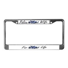 Funny Deputy wives License Plate Frame
