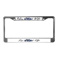 Unique Policeofficer License Plate Frame