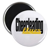 (Yellow) Cheerleading Flyer 2.25&amp;quot; Magnet (10