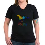Colorful Galloping Mustang Shirt