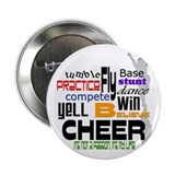 Cheer Words 2 2.25&amp;quot; Button (100 pack)
