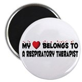 "Belongs To A Respiratory Therapist 2.25"" Magn"