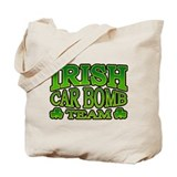 Irish Car Bomb Team Shamrock Tote Bag