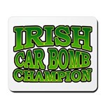 Irish Car Bomb Champion Shamrock Mousepad