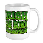 Irish Car Bomb Champion Shamrock Large Mug