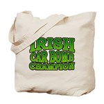 Irish Car Bomb Champion Shamrock Tote Bag