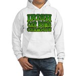Irish Car Bomb Champion Shamrock Hooded Sweatshirt